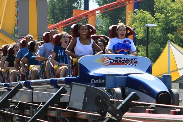 Top Thrill Dragster  Art | DocSaundersPhotography