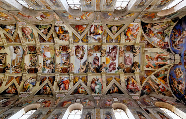 Sistine Chapel Ceiling, Vatican Art | Best of Show Gallery