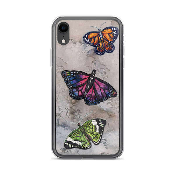 Butterfly I Phone Case   Water+Ink Studios