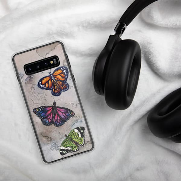 Butterfly Samsung Phone Case   Water+Ink Studios