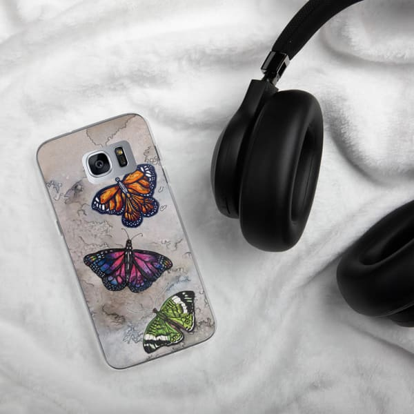 Butterfly Samsung Phone Case | Water+Ink Studios