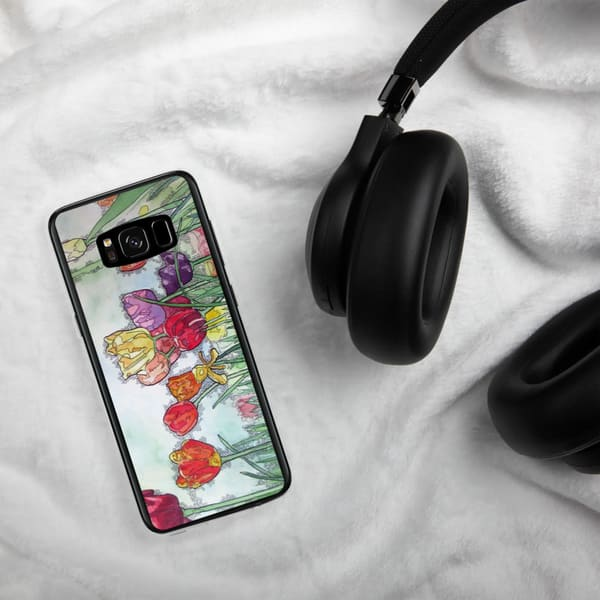 Tulips Samsung Phone Case | Water+Ink Studios