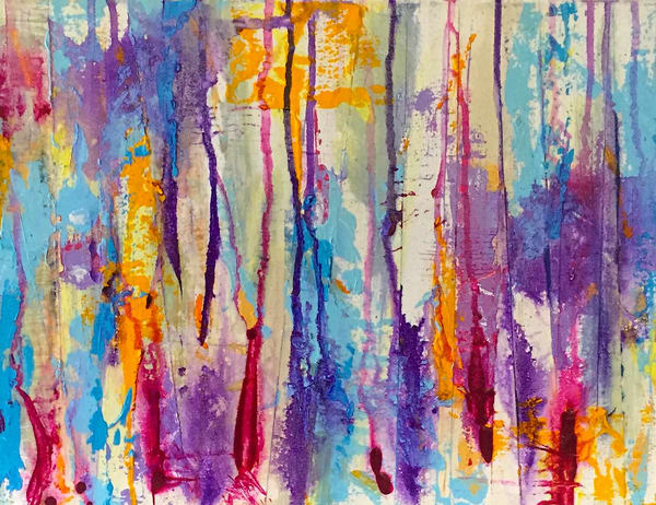 Dance Of Purple Art | Lesley Koenig Studio