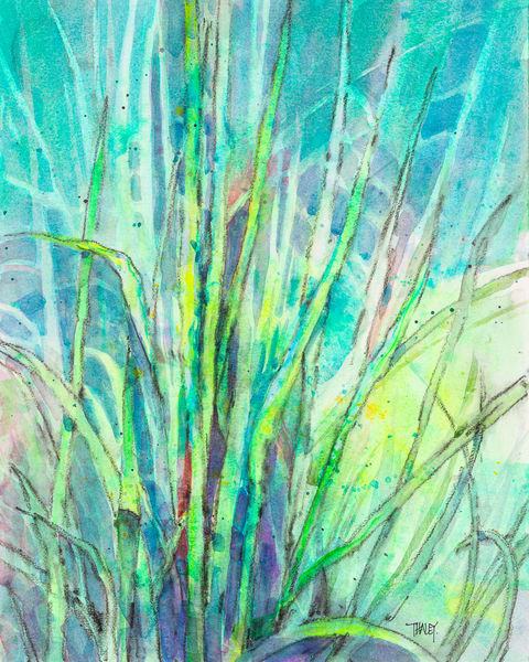 The Grass Is Greener Art | Terrie Haley Artist