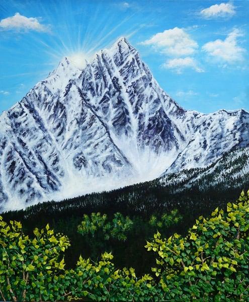 Kootenay Sunrise Art | Monique Cudbertson Art
