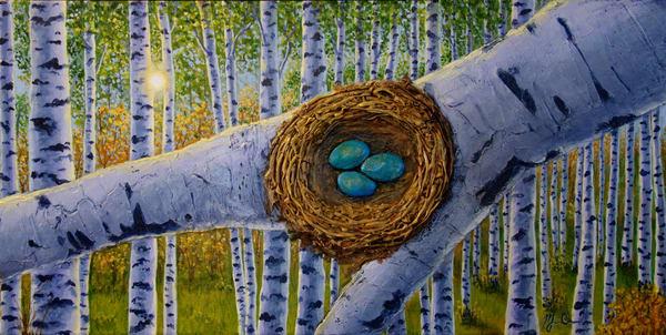 Robin's Nest Art | Monique Cudbertson Art