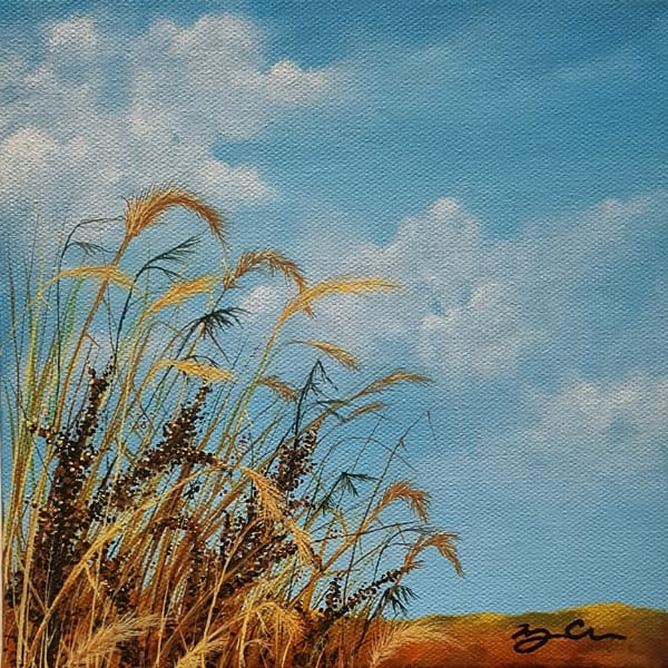 Prairie Grass Art | Monique Cudbertson Art
