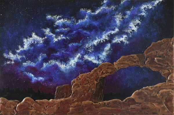 Galaxies And Arches Art   Monique Cudbertson Art