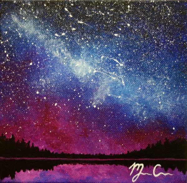 Night Magic #1 Art   Monique Cudbertson Art