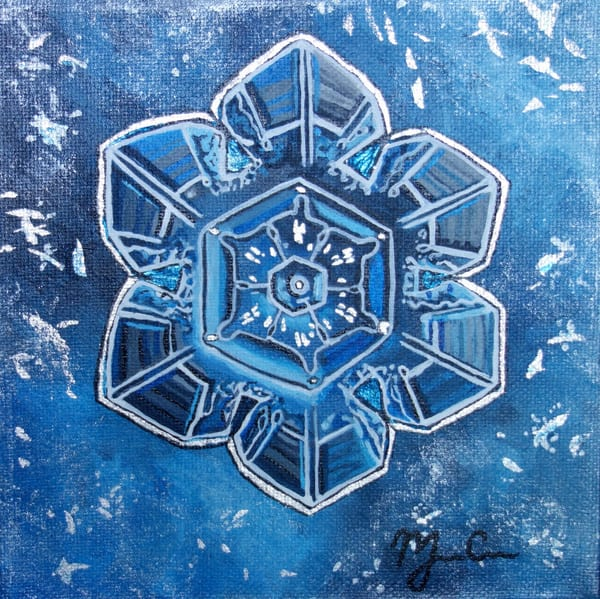 Silver Stellar Art | Monique Cudbertson Art