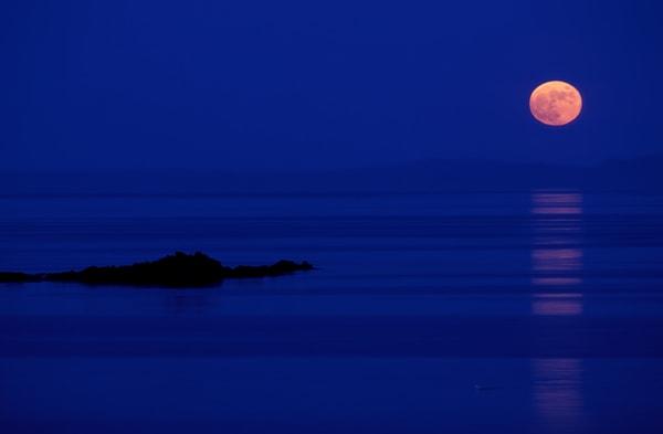 Moonrise, Kyntire Peninsula
