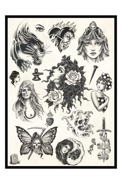 Love & Death Art | Kings Avenue Tattoo