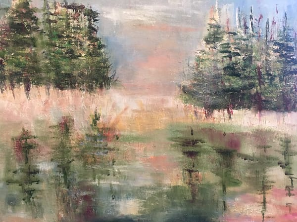 Winter Pond Art | East End Arts