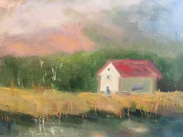 Cabin By The Lake Art | East End Arts