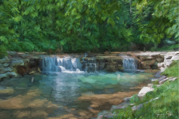 J Stoner   A Scene Of Serenity Art | Branson West Art Gallery - Mary Phillip