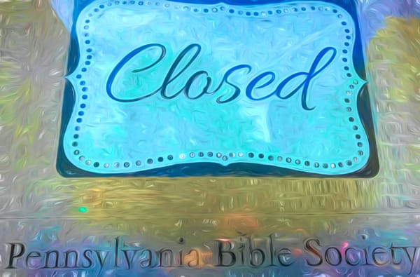 Bible Society Closed|Fine Art Photography by Todd Breitling