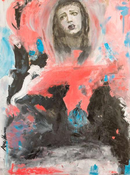 Weeping Gaia fine art print