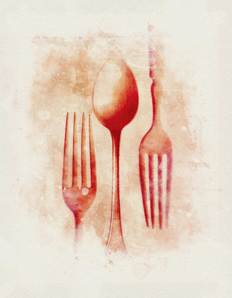 Forks And Spoon Study 01 Photography Art | Mark Steele Photography Inc