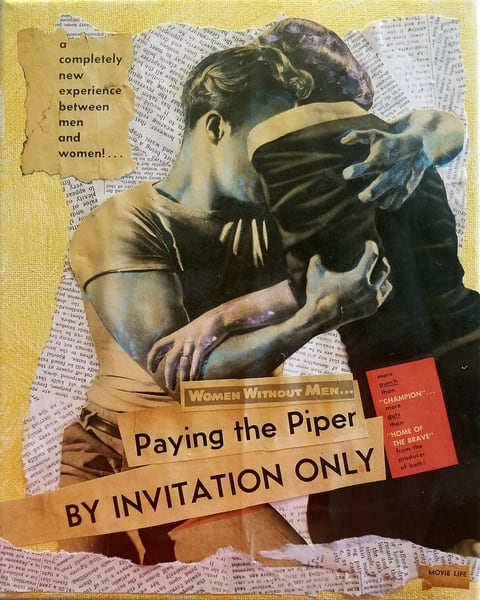 Paying The Piper (Women's Work Series) Art | East End Arts