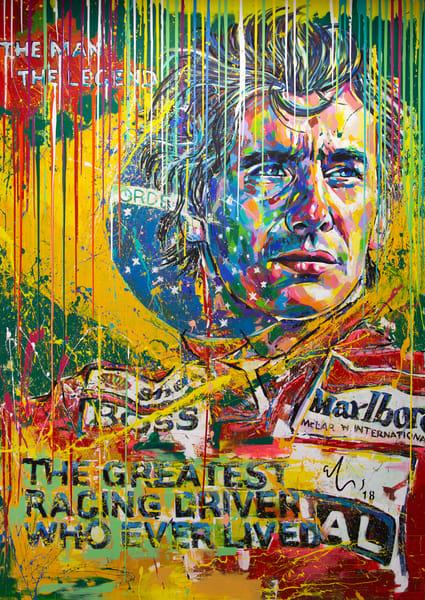 Ayrton Senna Art | Ralwins