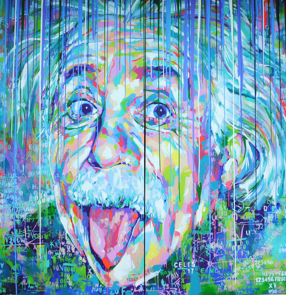 Albert Einstein Art | Ralwins