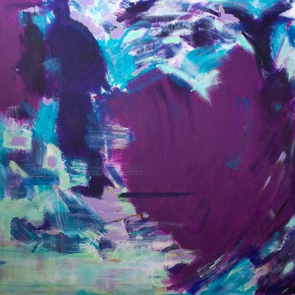 Searching For My Purple Heart Art | Lesley Koenig Studio