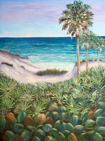 Our Florida Paradise  Art | Pamela Ramey Tatum Fine Art