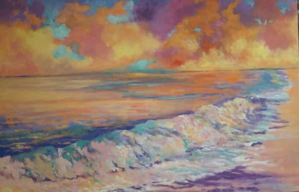 Crashing Waves, Original Acrylic Painting