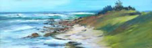 Crashing Waves II, Original Oil Painting