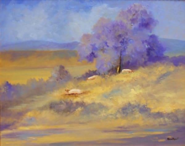 Grazing, Original Oil Painting