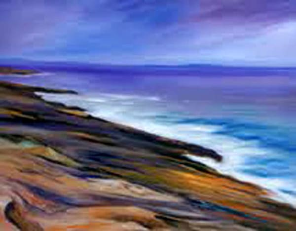 Maine Coast, Original Oil Painting