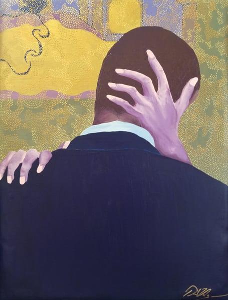 Aggressive Kiss To Gentleman Art by TAVolgenau