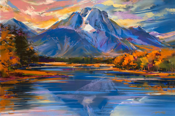 Jackson Lake Copy 1 Art | Michael Mckee Gallery Inc.