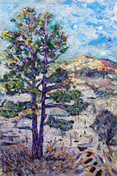"""Tree Time"" Original Art | Daniel Kanow Fine Art"