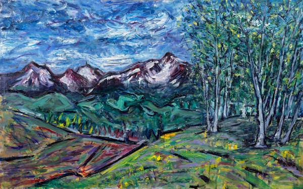 """Last Dollar Wilson"" Original Art | Daniel Kanow Fine Art"