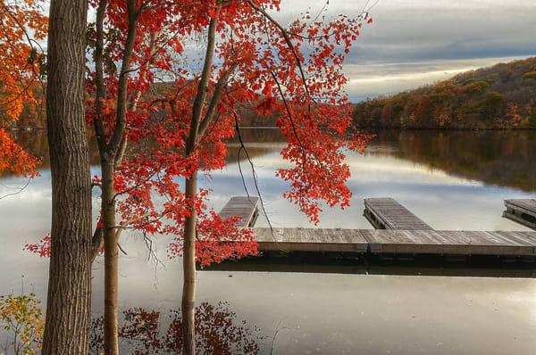 Autumn Pier Art   Danny Johananoff