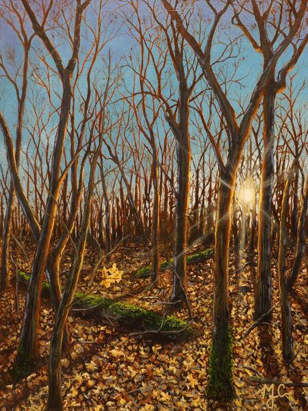 Last Leaf Standing  Art | Monique Cudbertson Art