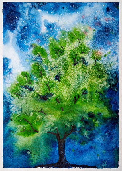 Galaxy Tree Art | East End Arts
