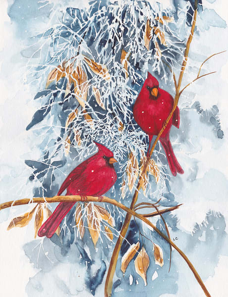 Winter Cardinals Art | East End Arts