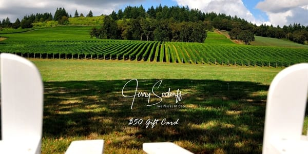 $50 Gift Card | Jerry Sodorff Photography - Two Places At Once
