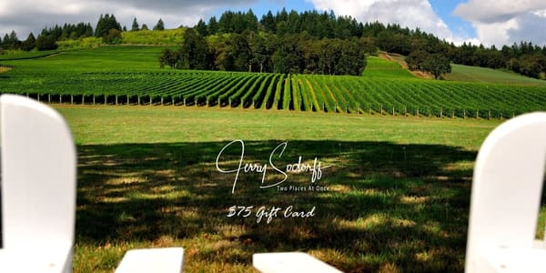 $75 Gift Card | Jerry Sodorff Photography - Two Places At Once