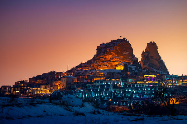 Uchisar After Sunset Photography Art | Laura Tidwell Photography