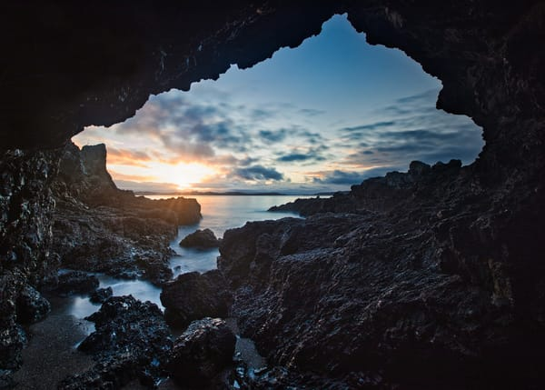 Tidal Sea Cave Art | Chad Wanstreet Inc