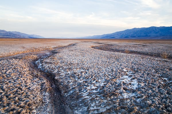 Salt Flats In Death Valley Photography Art by chadwanstreet