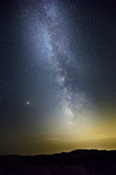 Milky Way Over Palm Springs Art | Chad Wanstreet Inc