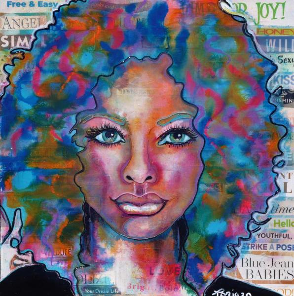 Blue Jean Baby Art | Toria Hill Gallery