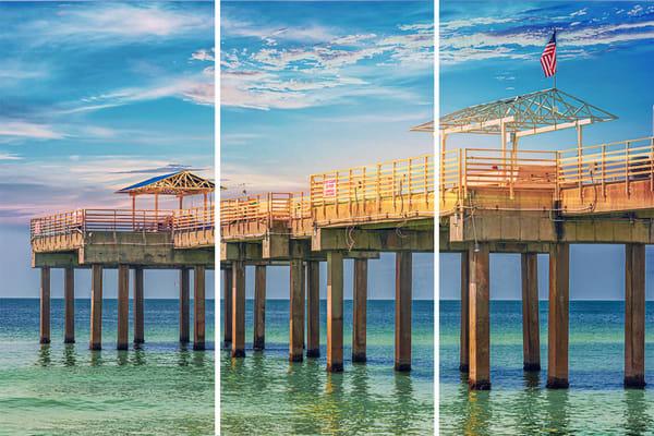 Pensacola Pier triptych