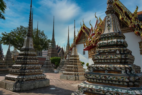 Grand Temple Grounds | Thailand Series | Shop Prints | Robert Shugarman Photography