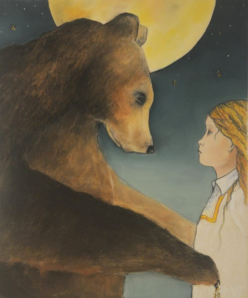 The Bear the Bees and the Girl