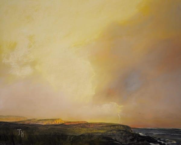 The golden light Art by John Davis Held Fine Art